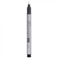 Лайнер заправляющийся Copic Multiliner SP, черный, 0,1мм