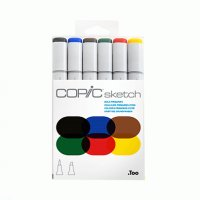 "Набор маркеров Copic Sketch Set ""Bold Primaries"""