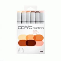 "Набор маркеров Copic Sketch Set ""Skin Tones"""