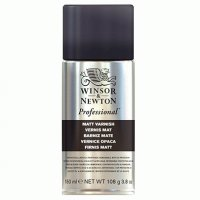 Лак- спрей матовый Winsor&Newton Artists' Matt Varnish150 мл