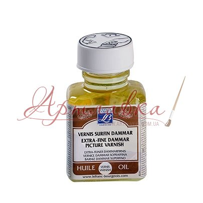 Лак даммарний Extra-fine Daммar varnish, 75 мл